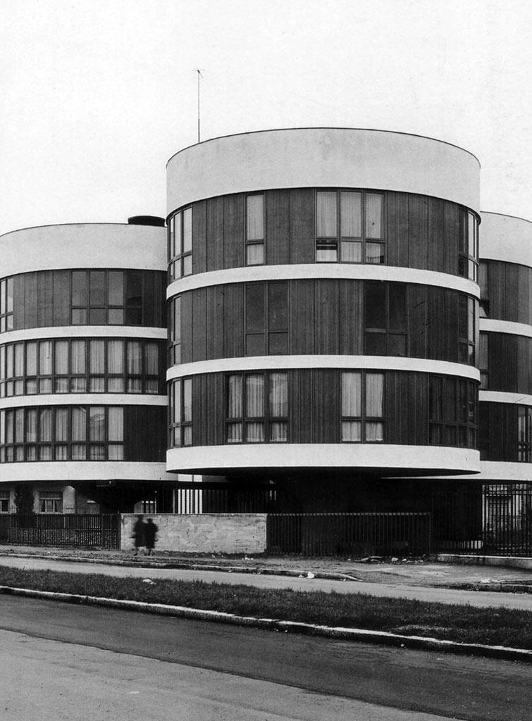 Casa a tre cilindri, Via Gavirate 27, Milano 1959