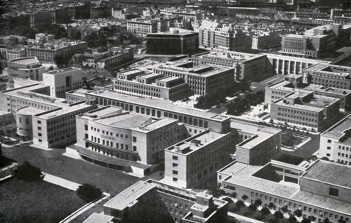 Città Universitaria, Roma 1932