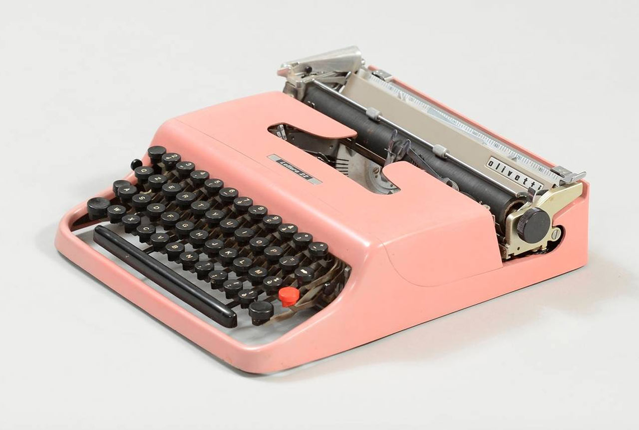 Lettera 22 portatile, Olivetti 1950