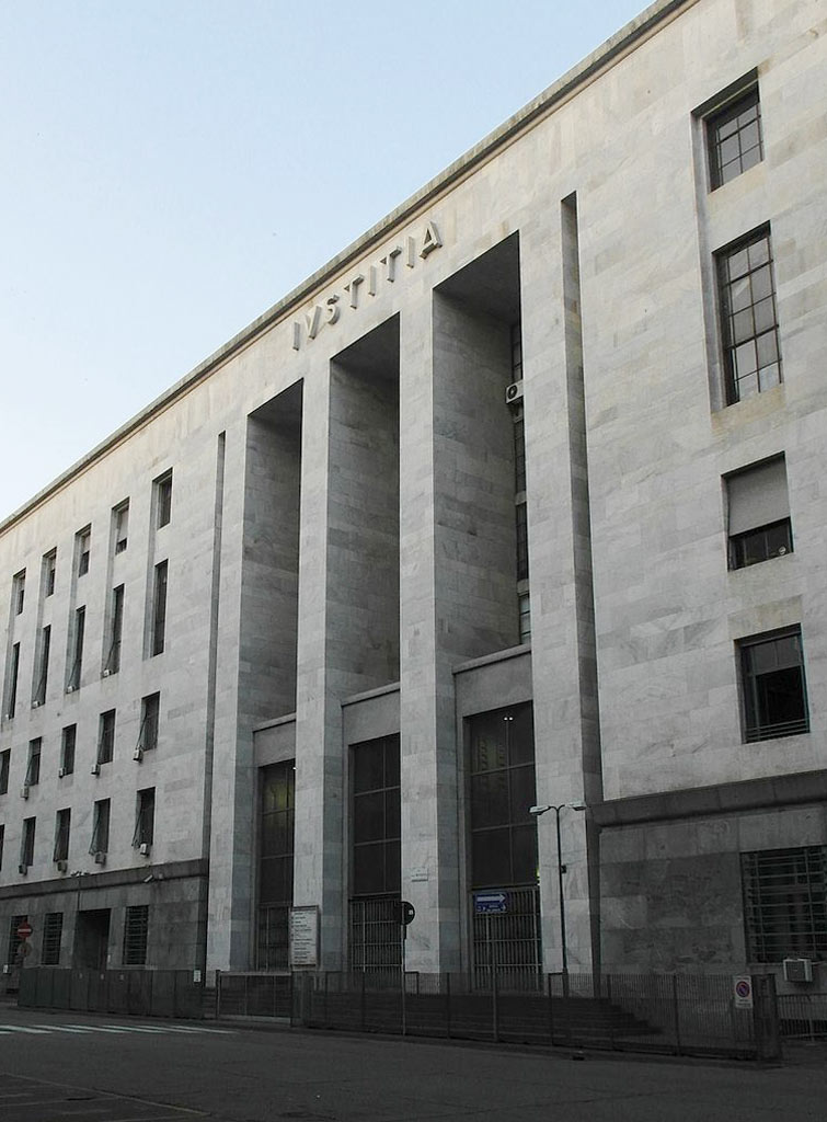 Palazzo di Giustizia, Milano, 1933