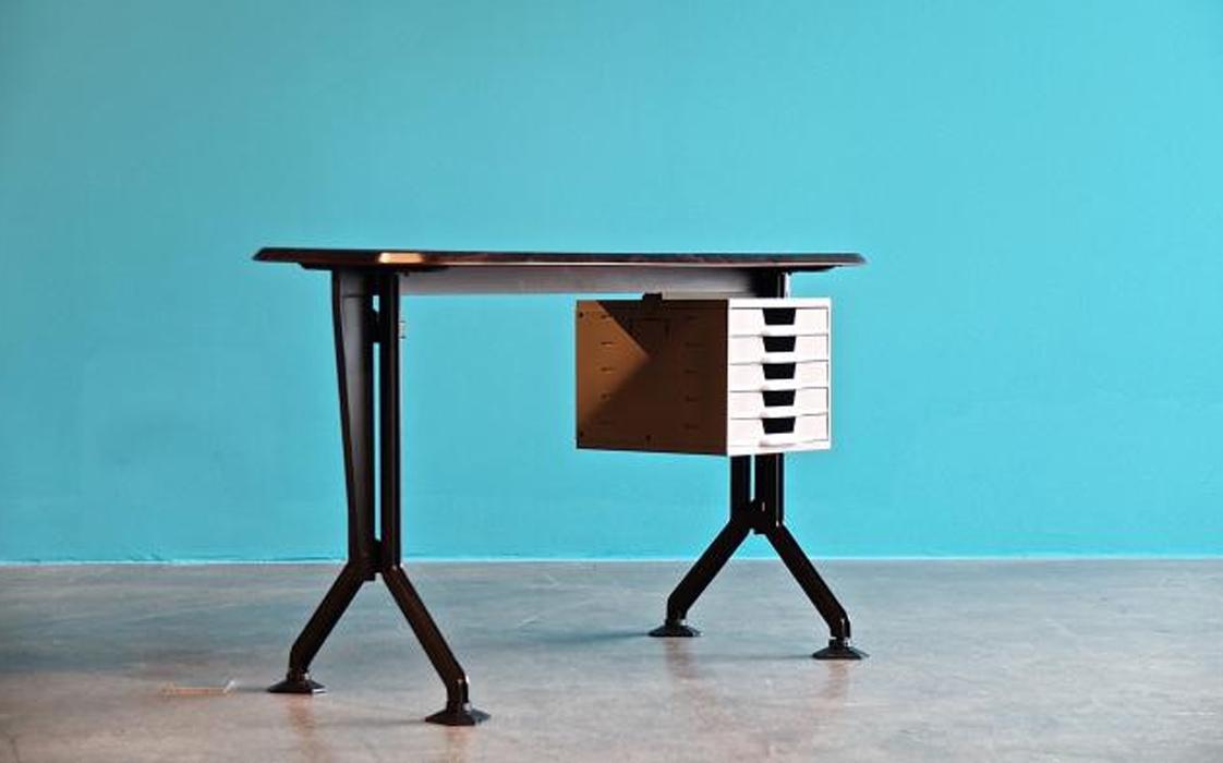 Arco, scrivania, Olivetti, 1962