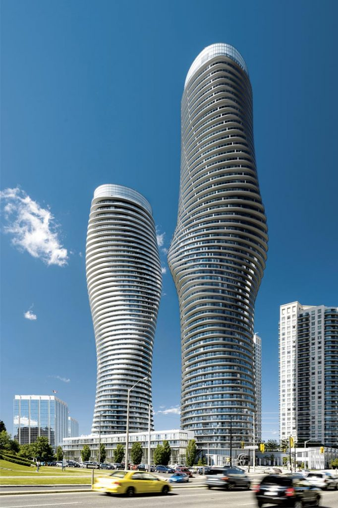 Absolute Towers, Mississauga, Canada 2006-2012