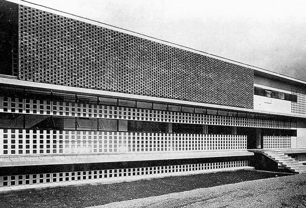 Dispensario antitubercolare, Alessandria 1934-1938
