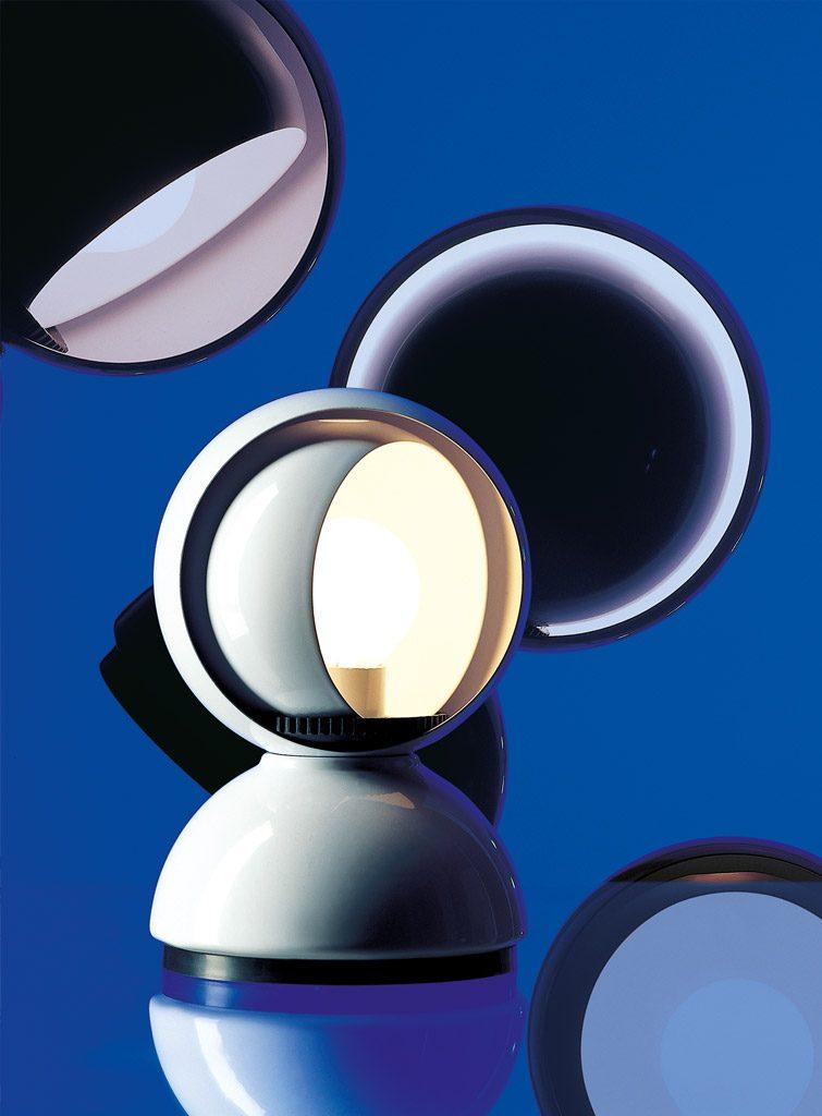 Eclissi lampada, Artemide 1967