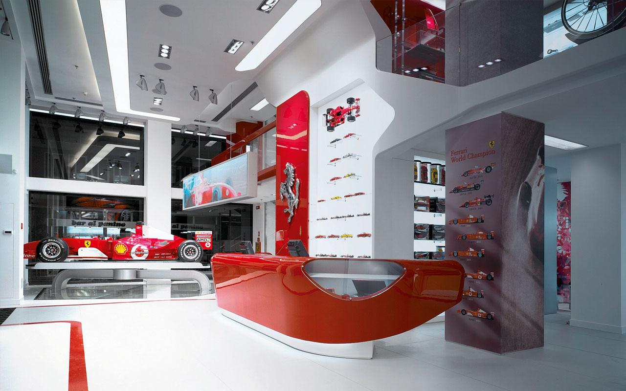 Ferrari stores, 2002