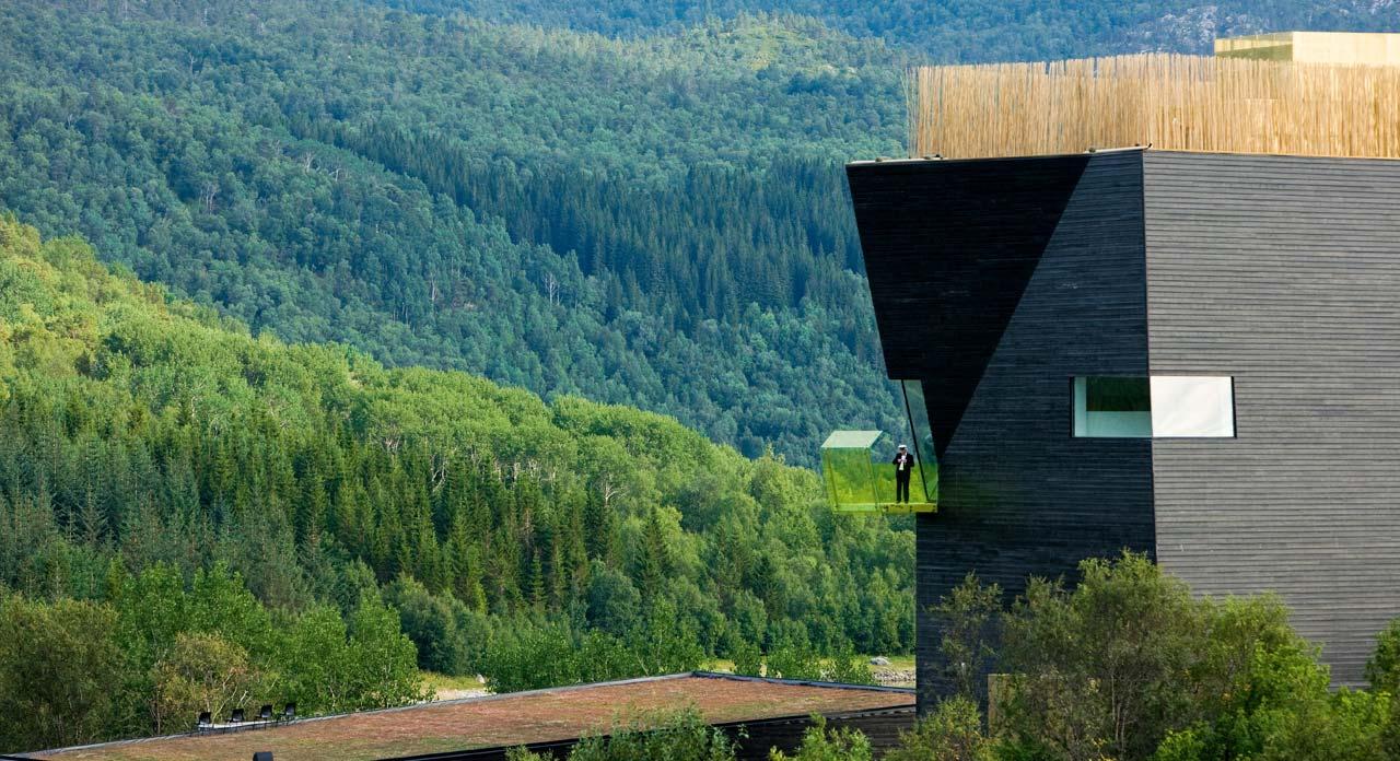 Knut Hamsun Center, Hamarøy, Norway 2009