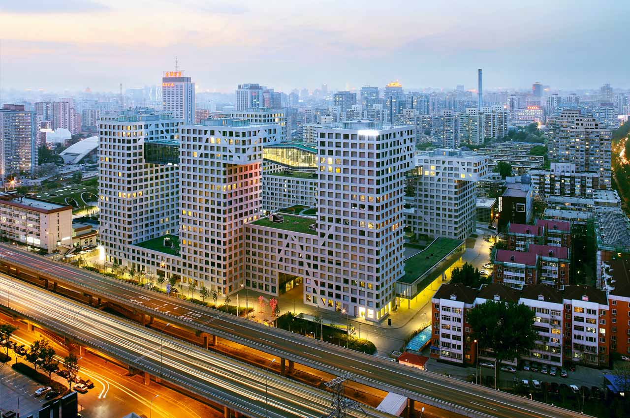 Linked Hybrid, Beijing, China, 2009 (ph. Shu He)