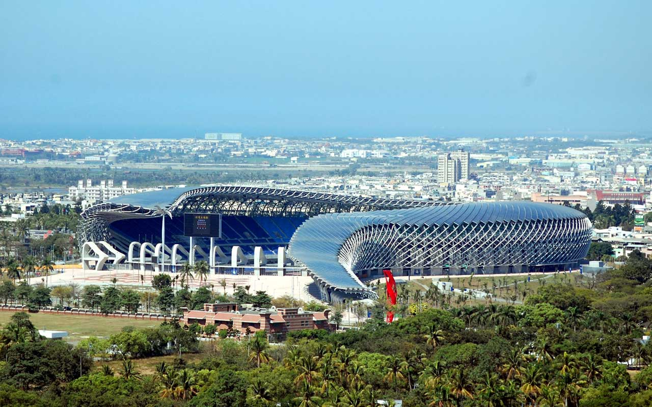 Main Stadium for the World Games, Kaohsiung, Taiwan 2009