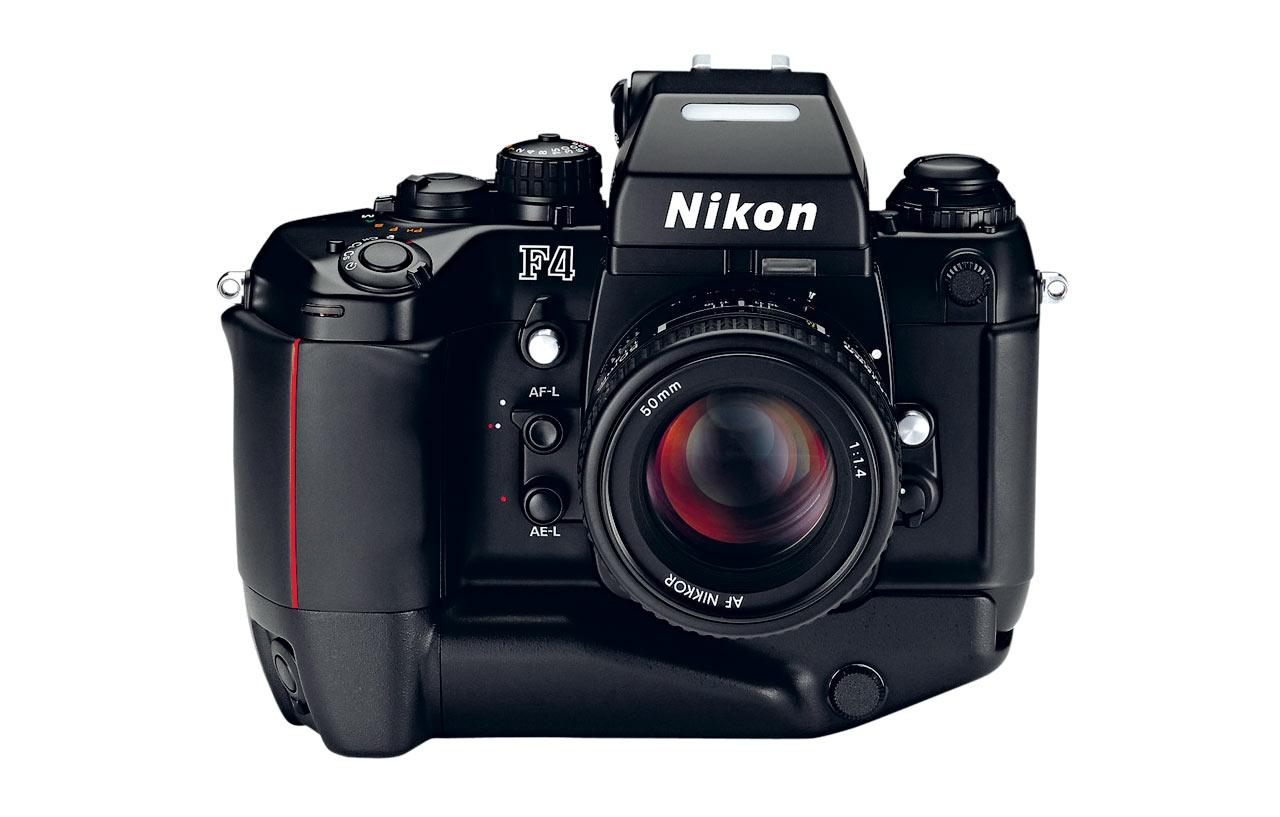 Nikon, F4, macchina fotografica, 1988