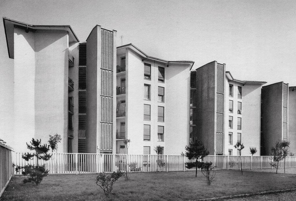 Ignazio Gardella, Franco Albini, Quartiere Mangiagalli, Milano 1950-1952
