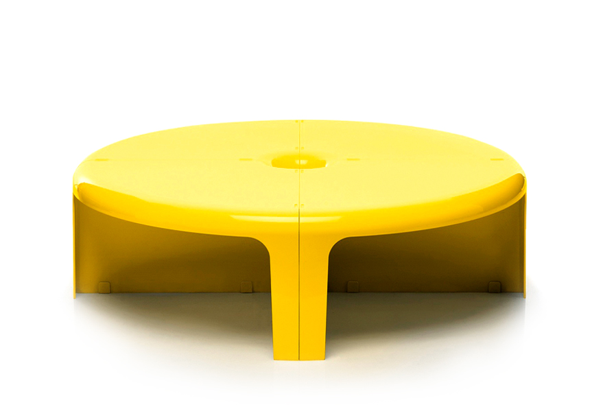 Quattro Quarti tavolini, Bernini 1969