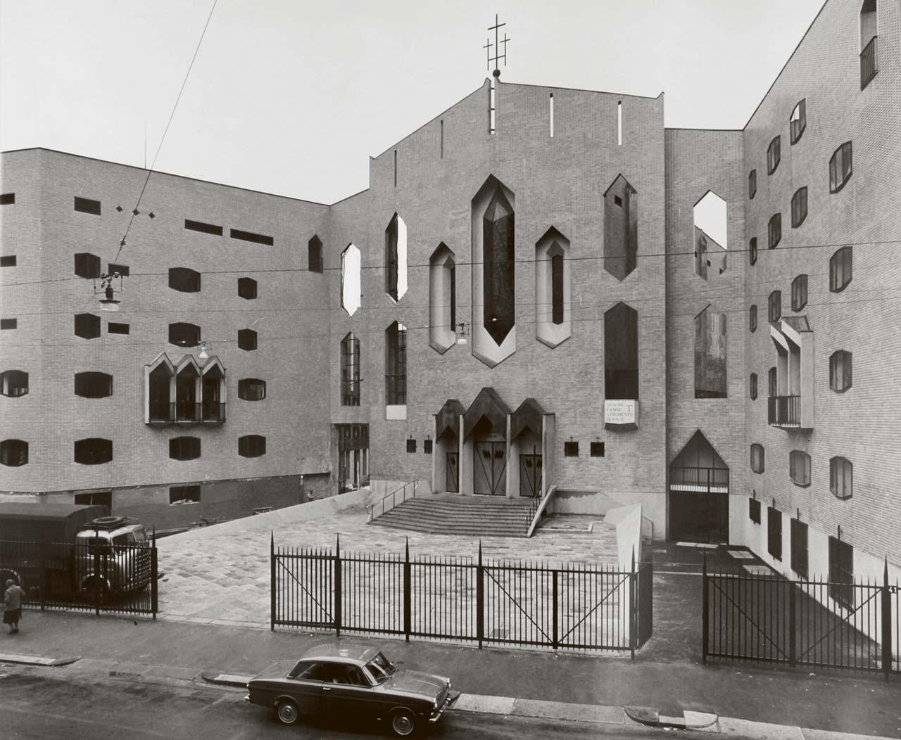 San Francesco al Fopponino, Milano 1964 (courtesy OSC)