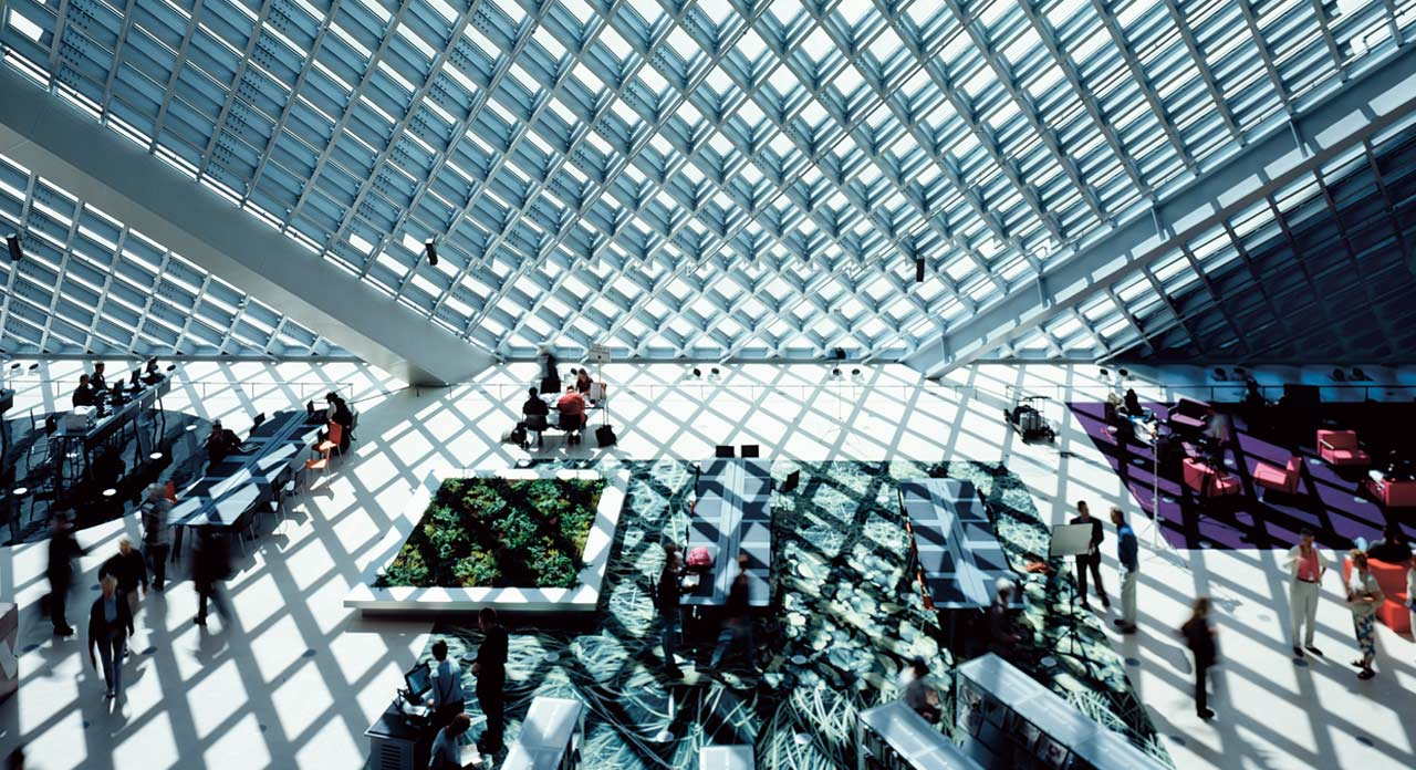 Seattle Central Library Seattle (USA), 2004. Ph. Philippe Ruault
