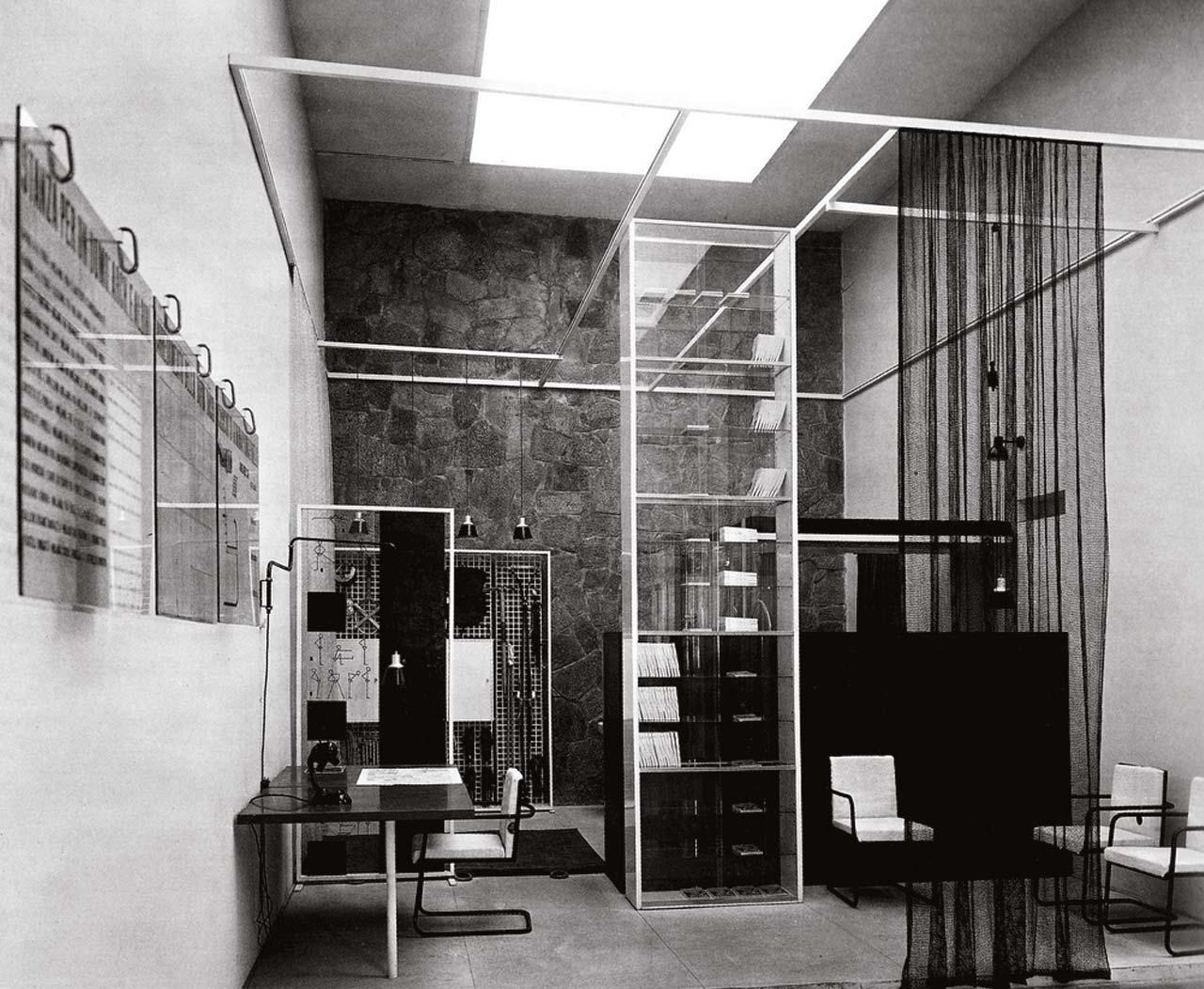 """Franco Albini, """"Stanza per un Uomo"""", VI Triennale di Milano 1936"""