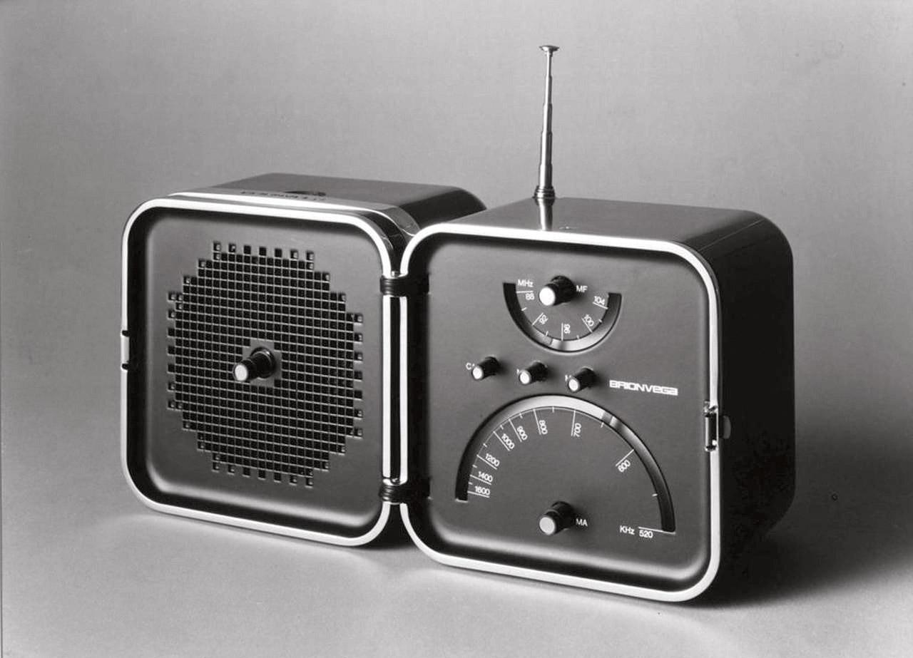 TS 502 Radio, Brionvega 1963 (conMarco Zanuso)