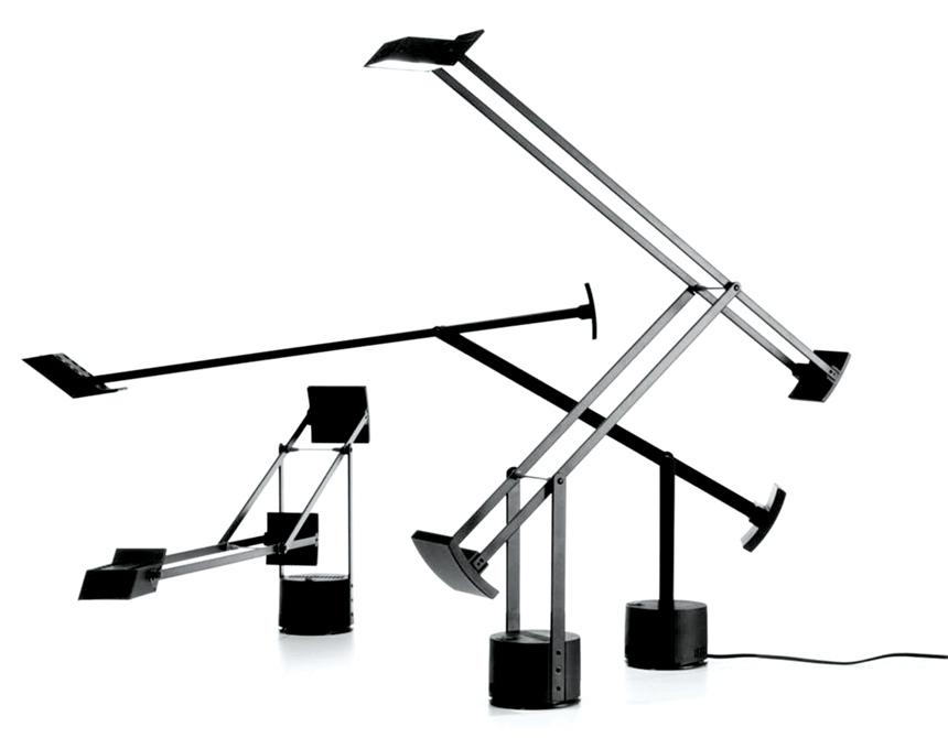 Tizio lampada, Artemide 1972