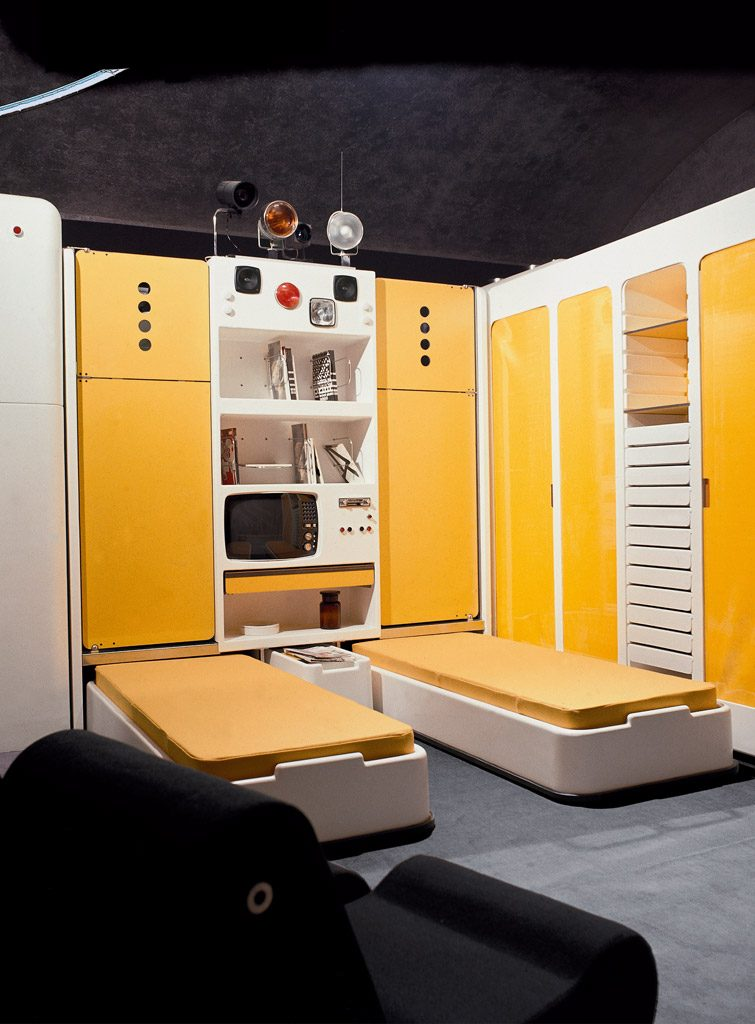 "Total Furnishing Unit, ""Italy: The New Domestic Landscape"", MoMA, New York 1972"