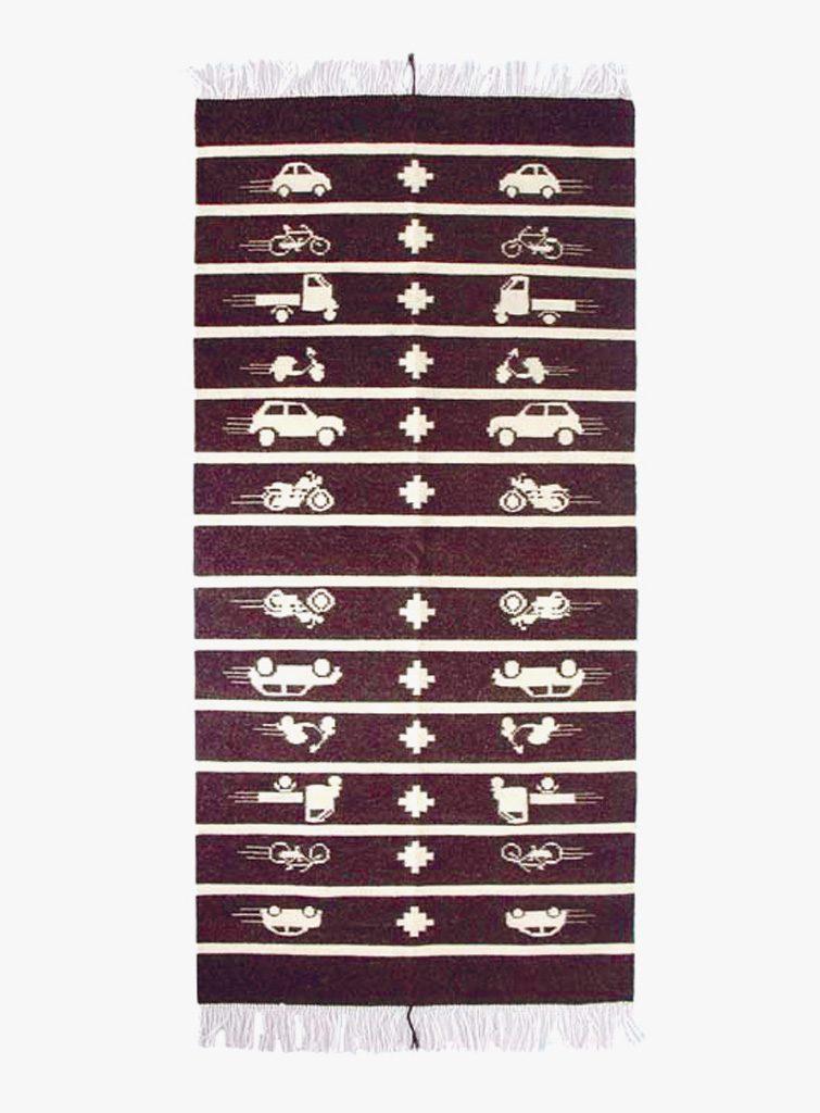Vroom Vroom, tappeto, Imagomundi 2007
