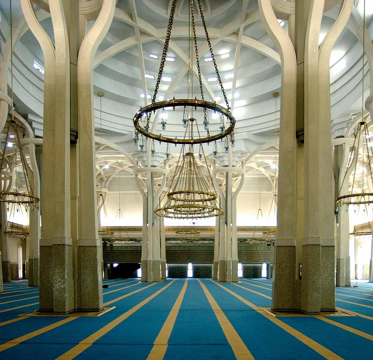 Grande Moschea di Roma, 1974