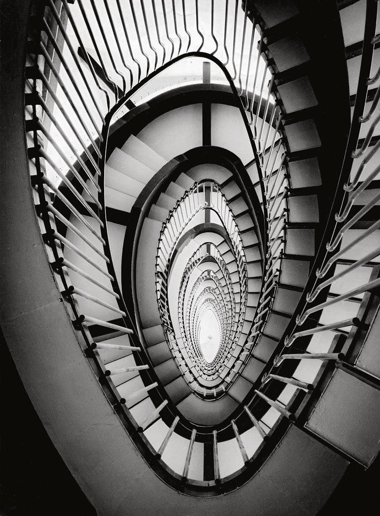 La Rinascente: scala, Roma 1957