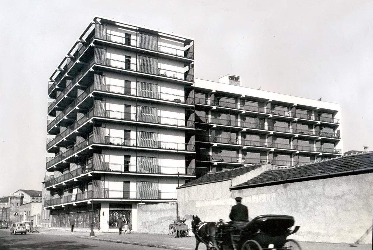 Casa d'abitazione in via A. Moro a San Donato Milanese - 1991