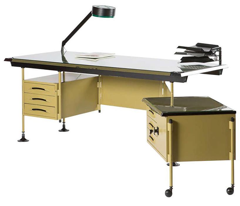 Scrivania Olivetti Mod. Spazio, designer BBPR 1960