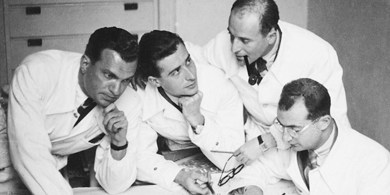 BBPR: Gianluigi Banfi, Ludovico Barbiano di Belgiojoso, Enrico Peressutti e Ernesto Nathan Rogers