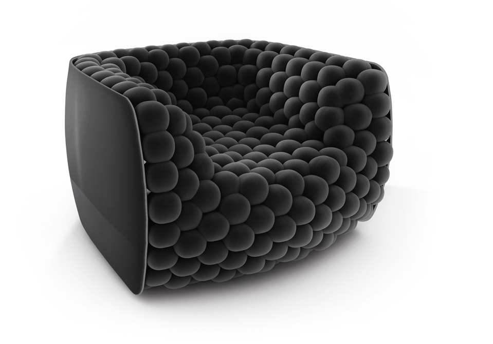 BLUEBERRY, Sculpture armchair, 2012